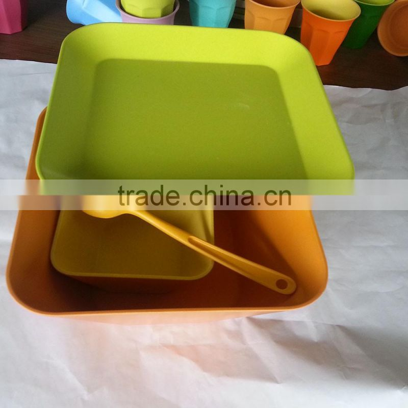 Professional Biological Natural Bamboo Fiber Tableware