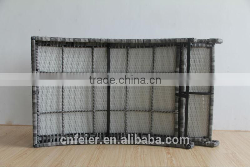 rattan furniture import with foldable design