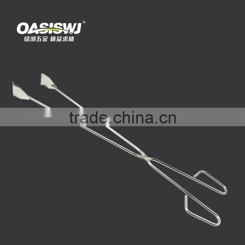 fire tong BBQ tong kitchen tongs food tongs YZ0041C