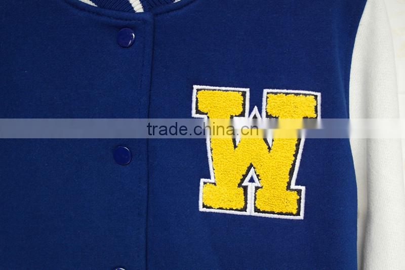 Baseball Jacket,Varsity Baseball Fleece Jacket, Letterman Jacket Unisex ,fleece swaeater,towel embroidery jacket