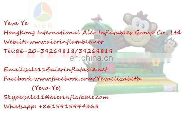Custom design cartoon inflatable fun city