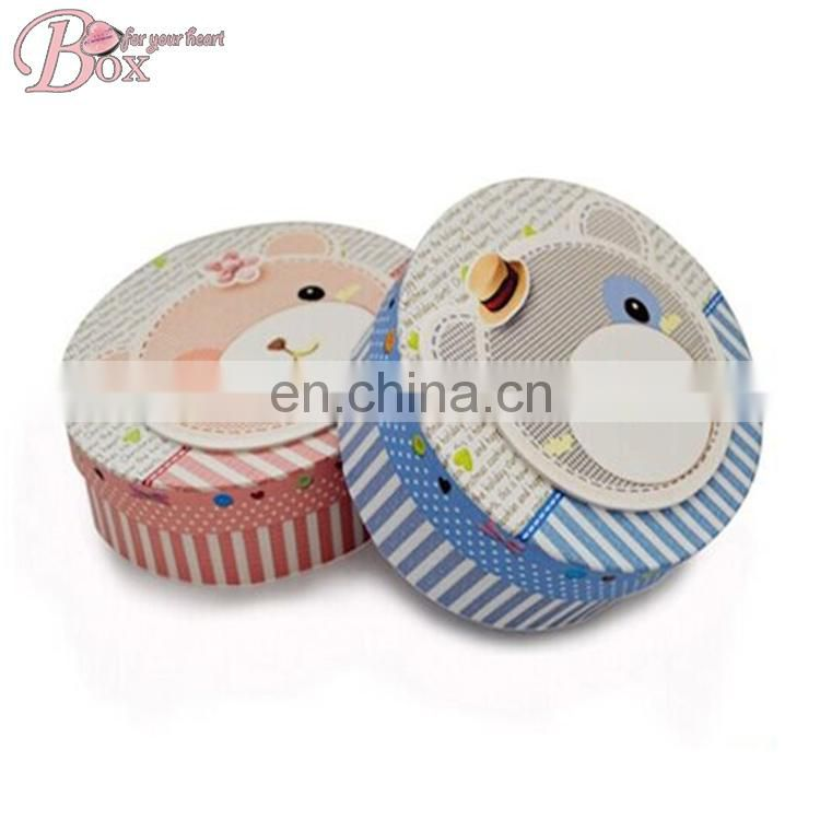 Shantou Shicheng Oval Cardboard Jewelry Ring Box
