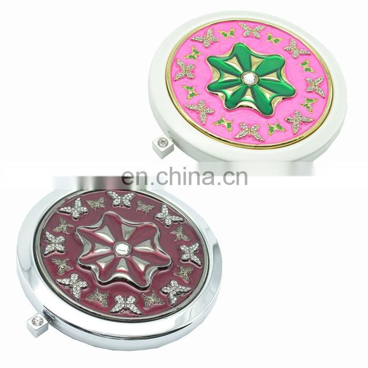 2016 Wholesale price gift makeup mirror personalized plastic led mirror