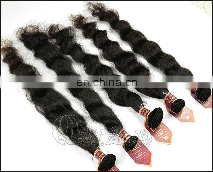 Queen Virgin Hair Brazilian, Hot Beauty Top Quality 100% Unprocessed Brazilian Hair