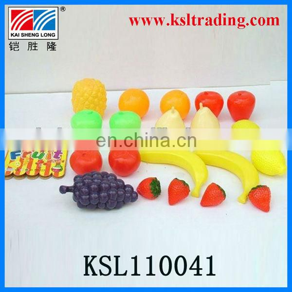 decoration kids plastic simulation fruit toys