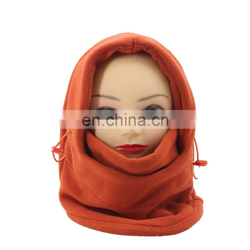 Fashion 6-in-1 Multipurpose Polar Fleece Neck Warmer Women Men Polar Fleece Snood Hat Neck Warmer Ski