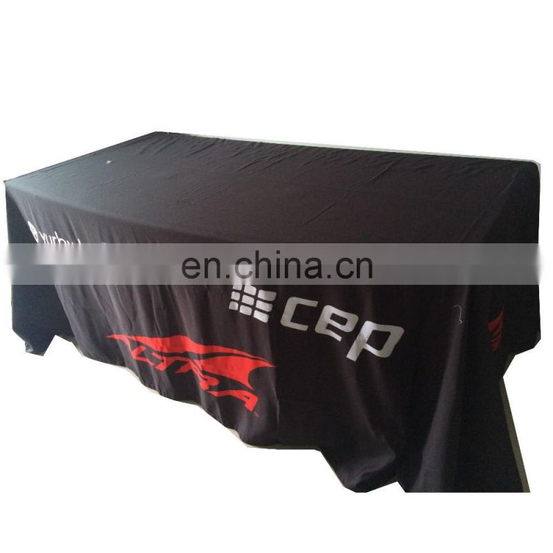 custom outdoor 6ft stretch table cover
