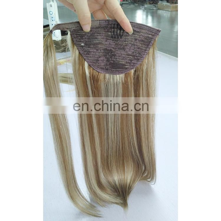 Wholesale Price Brazilian Remy Ponytail Hair Extensions, Indian Remy Ponytail Hair Extensions