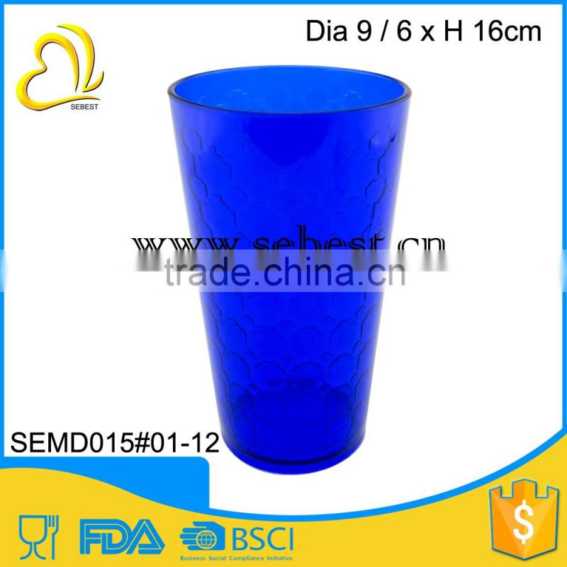 Any surface design is welcome custom plastic cups tumbler