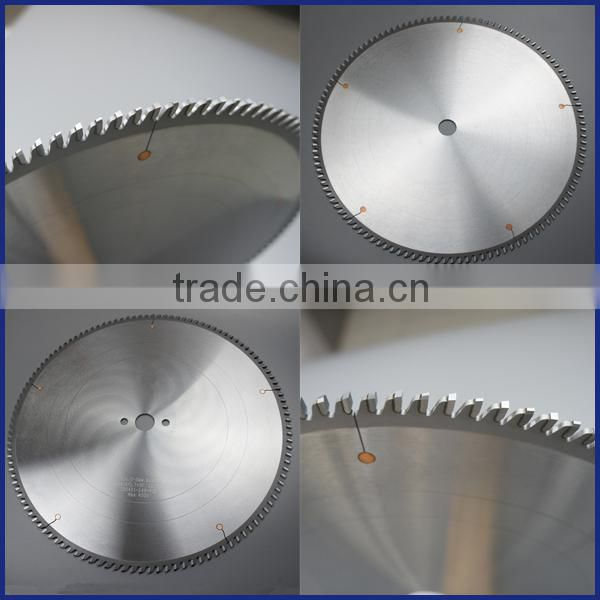 large size aluminum cutting circular saw blade used on CNC machines