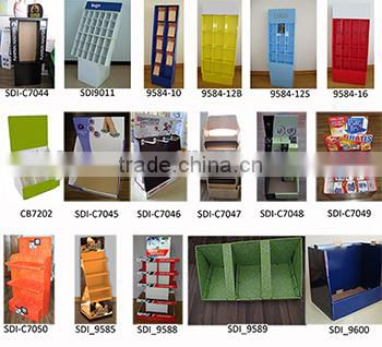 S6223 MDF 2 tier soft PVC ball storage rack