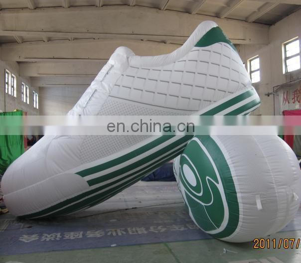 airblow inflatable shoes replica for outdoors advertising
