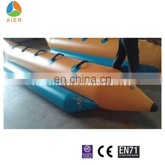 5m High Quality Inflatable Banana boat For Water Park