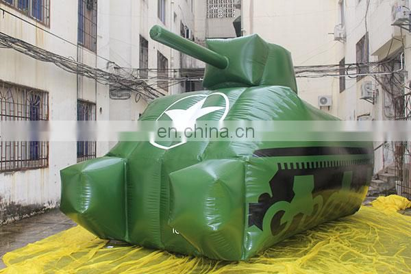 high quality giant inflatable panzer inflatable tank for outdoor