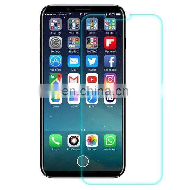 2017 new 0.26mm Ultra Thin 9H Hardness High Definition Tempered Glass Screen Protector for iPhone X