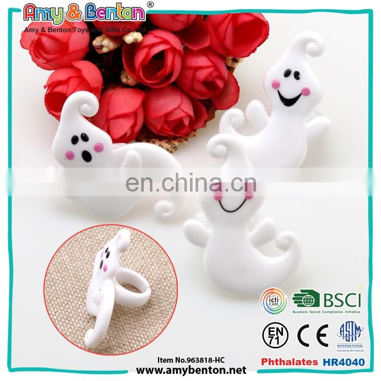 Halloween children plastic finger rings toys in bulk