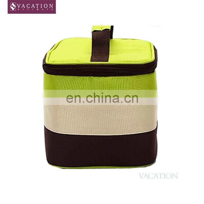 Insulated food safety lunch bag