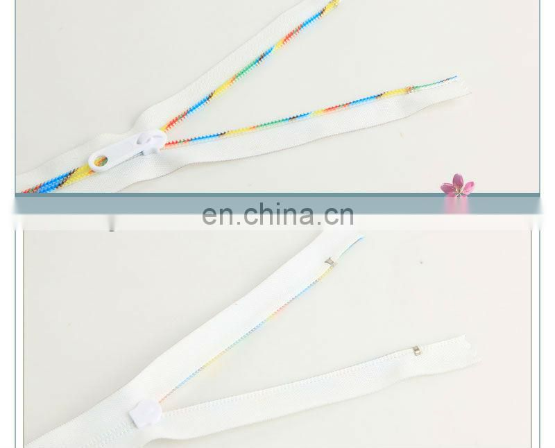 High-quality garment metal zipper