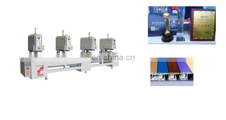 One two three four _ head seamless welding machine plastic corner cleaning equipment copying With Lowest Price