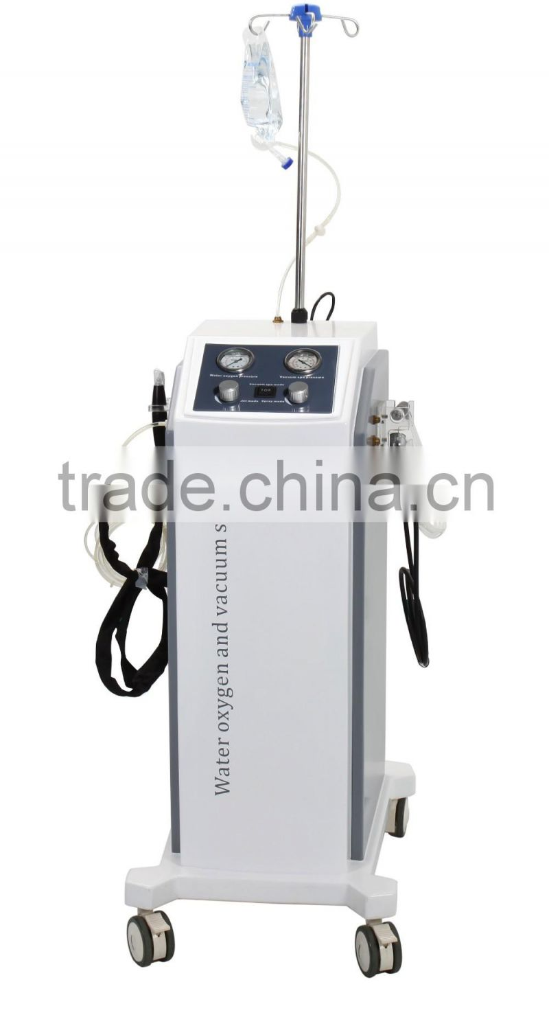 Top rated good pump 4 in 1 oxygen and water jet peel facial skin care machine for facial cleaning and rejuvenation