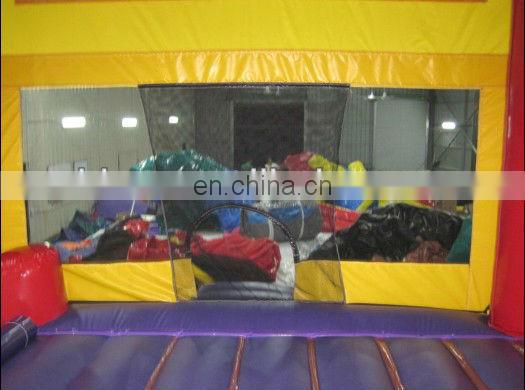 commercial inflatable combo, bouncer slide inflatable toys, slide jumper C6008