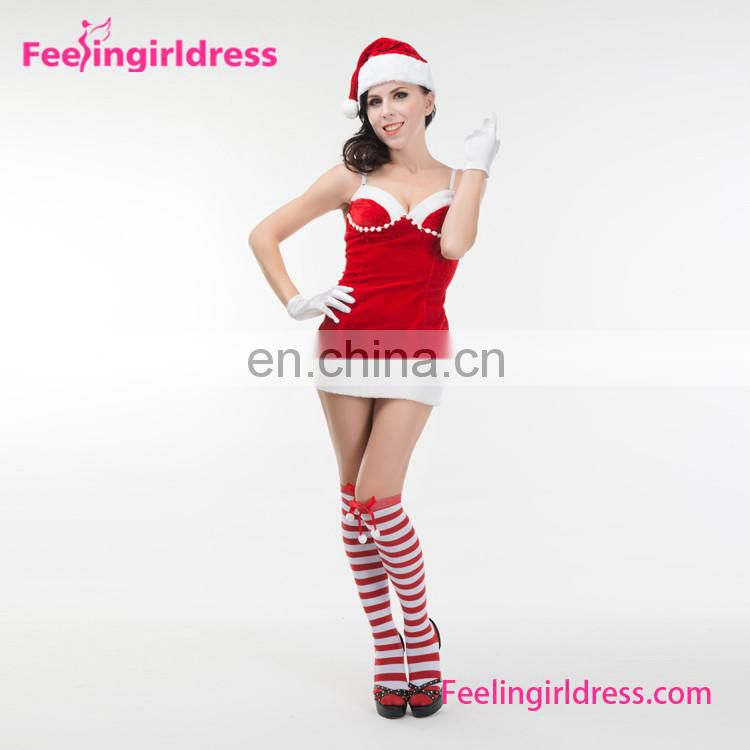 Wholesale christmas pajamas santa costume costumes