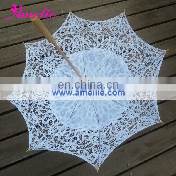 New Arrival Victorian Cotton Wedding Lace Parasol