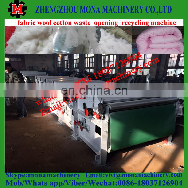 Excellent quality new polyester fiber opening machine