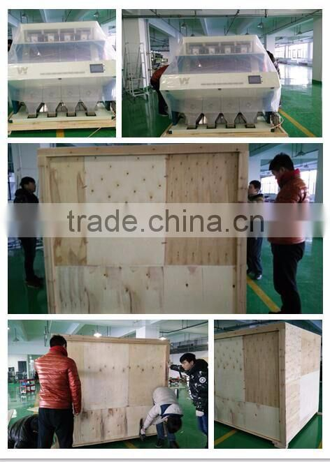 Multifunction CCD corn/maize/peas/grain/seeds color sorting machine in Anhui Hefei