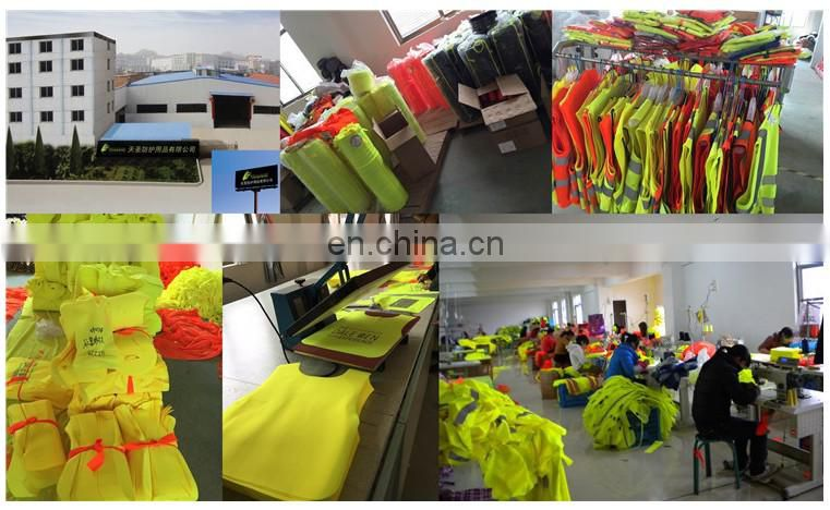 high visibility motorcycle yellow security vest