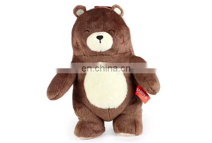 ICTI 20cm new fat giant plush tedy bear soft pp cotton wholesale