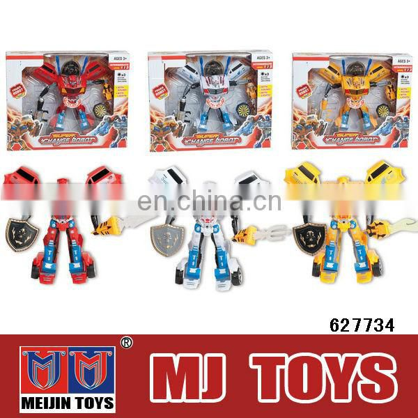 Plastic robot fighting robot toy for kids