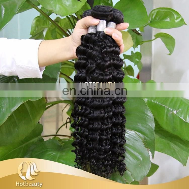 2017 100% Unprocessed Hot Sale Virgin Malaysian deep wave Hair
