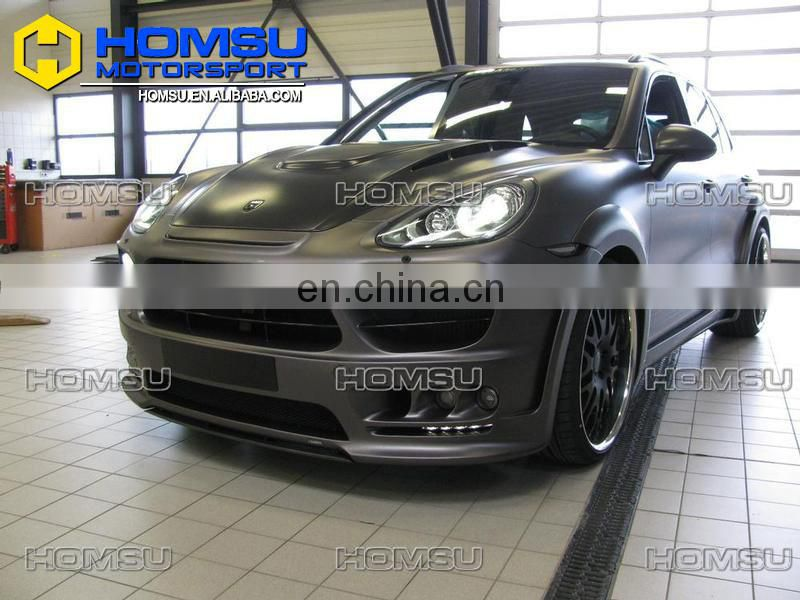 high quality 958 HM style wide design body kit with spare parts for Pors Cayene 958
