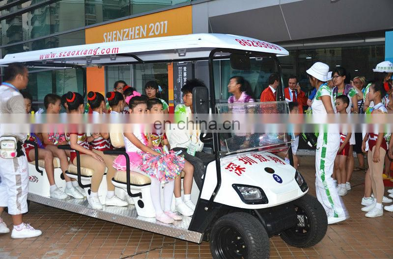 Electric 8 seater golf cart for sale | Sightseeing car | Annual Best seller in Southeastern Asia market