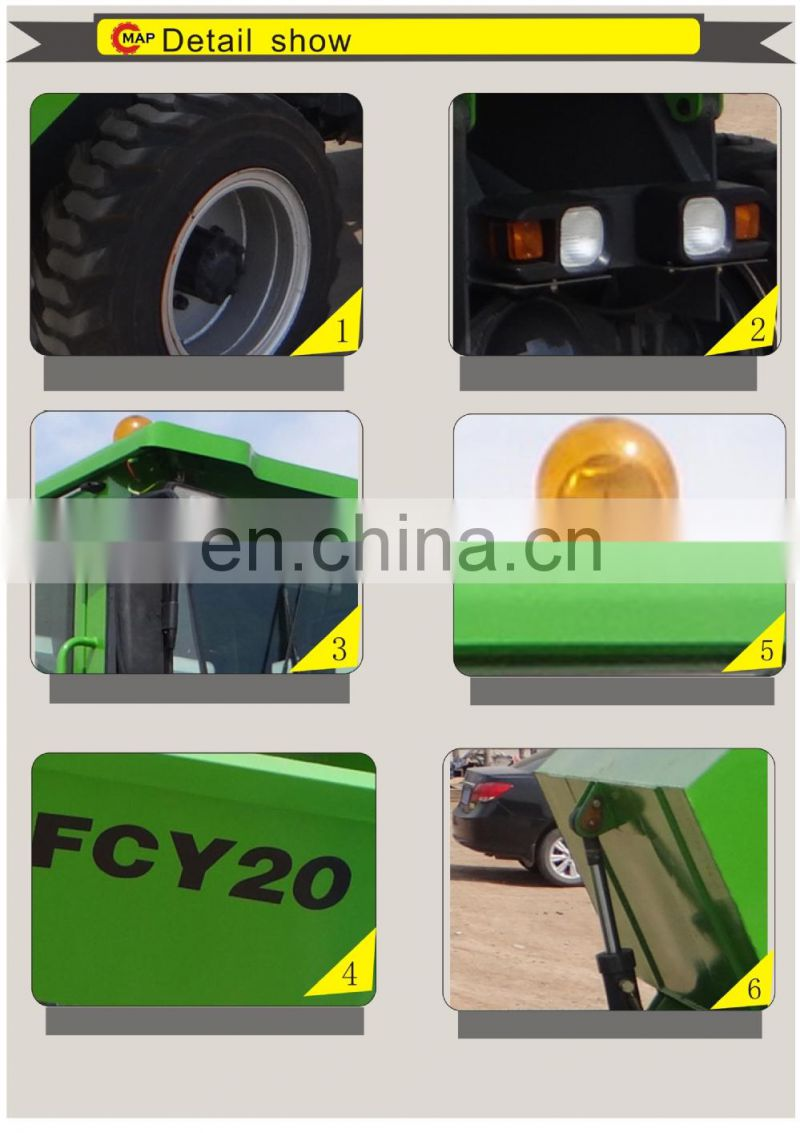 Hot Sale 4WD Hydraulic Site Dumper Truck Dumper