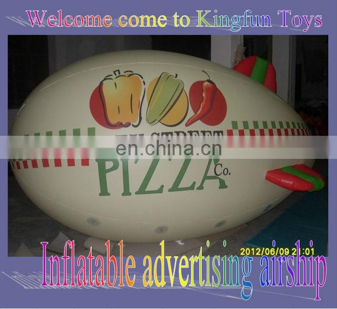 2013 McDonald's inflatable helium airship