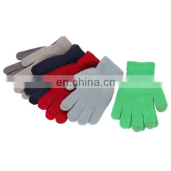 Knitted Finger Winter Cheap Phone Pad Touch Screen Gloves