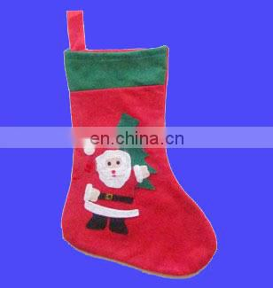 Hot selling promotional santa Stocking christmas stocking xmas stocking