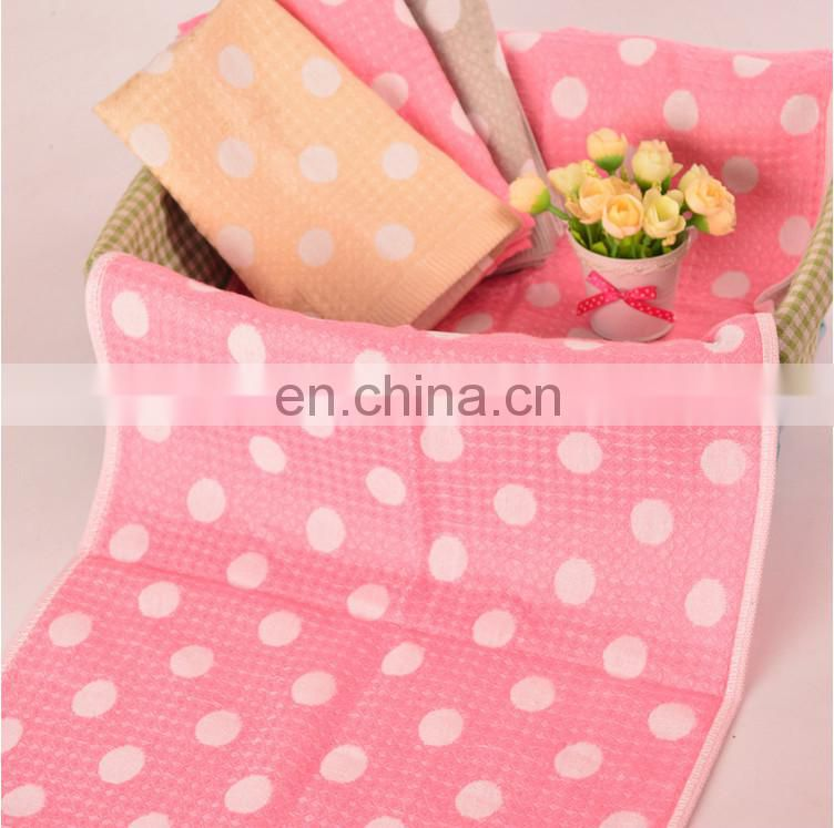 wholesale jacquard double bamboo fiber gauze fabrics of towel