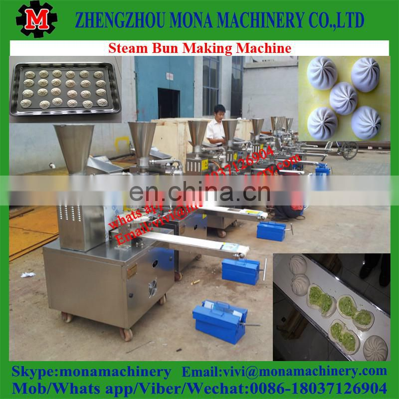 Home Dumpling Or Bun Making Machine / Automatic Stuffed Bun Forming Machine