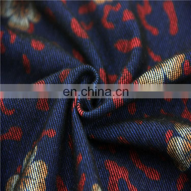 tc spandex Knitting Denim Jersey fabric