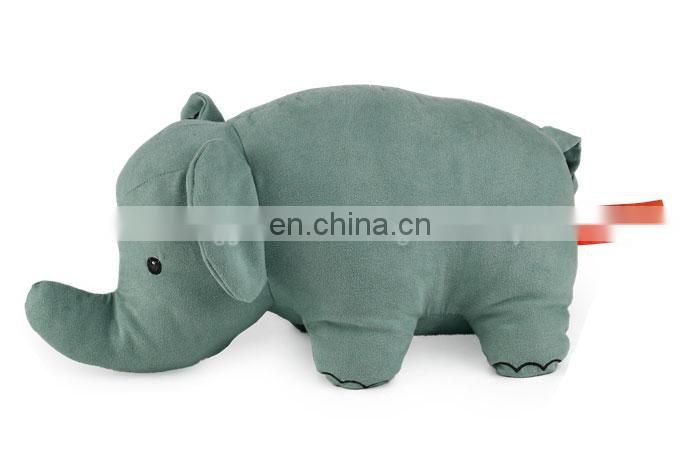 SA8000 audit factory wholesale plush animal stuffed elephant toy