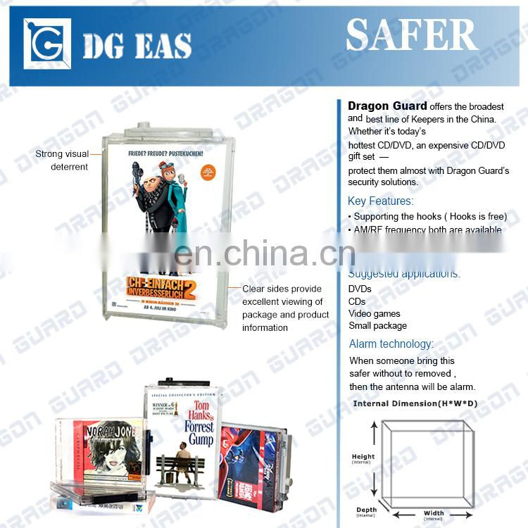 New ABS security safe box for store anti theft