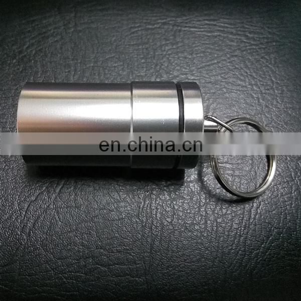 Large Key Ring Pill Box
