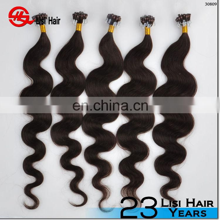 New Arrival Top Grade Direct Factory Price Remy Hair Microring Double Drawn