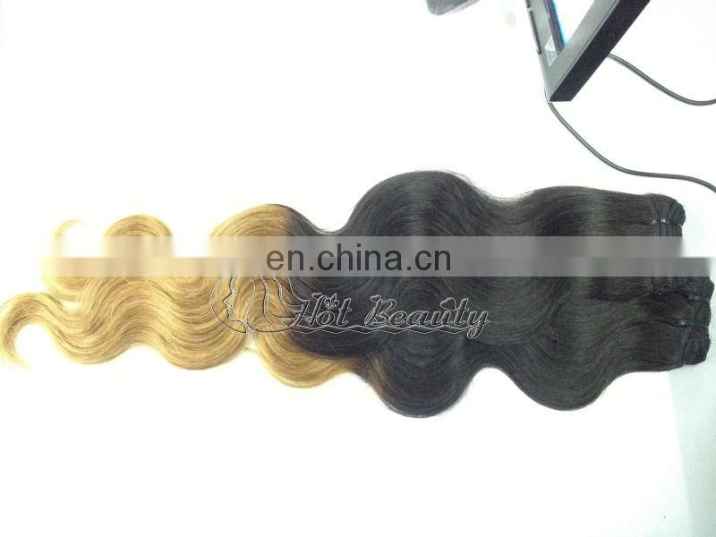 New Arrive 5A Two Tone Hair Ombre Hair Brazilian Loose Curls