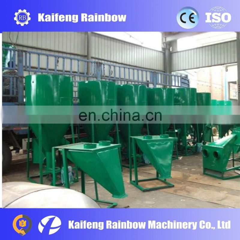 Hot sale commercial chicken feed mixing and crushing machine for animal food making