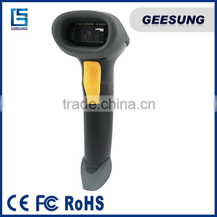 Handheld 1D Laser barcode scanner with USB cable Quality