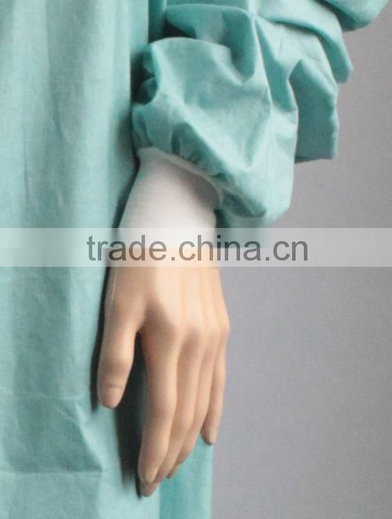 Nonwoven Disposable Surgical Isolation Gown For Hospital/surgical Medical Sterile Gown Free Size